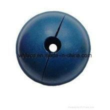 Ancien renfoncement rond en plastique concret pour les ancres principales sphériques (1.3T-10T)