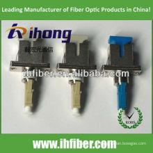 Adaptador de fibra hembra LC macho LC multimodo