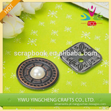 buton decoração home adesivo metal novo produto chique gasto de metal