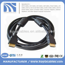Brand new 19pin hdmi to hdmi cable 1.3v with 2 Ferrit 1.5meter black