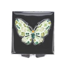 Многоцветные бабочки компактные зеркала