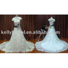 2011-2012 design novo - Halter vestido de noiva do pescoço