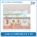 Chinese supplier Free sample gold staming Playmate Wall Calendar