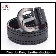Fashion Woman Punching Hole Genuine PU Belt