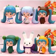 ICTI Талисман Костюм Индивидуальные Аниме рис пластиковые украшения куклы игрушки