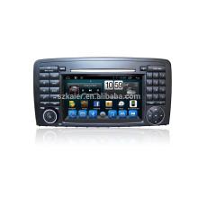 7 '' Android Auto DVD Naviagation MP5-Player für BENZ R-Klasse mit Radio Eingebautem GPS