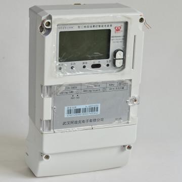 Trifásico Smart Multi-Tariff Pré-pagamento Remote Carrier Electronic Meter