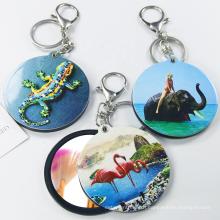 creative custom printing animal keychain manufacturer,cute girl pendant keychain gift key chain