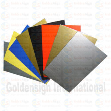 Hoja de doble color ABS (GS-001) para enrutador CNC