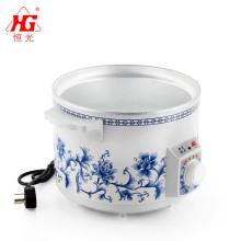 Multipurpose white ceramic inner pot Slow Cooker multipurpose electric stew pot