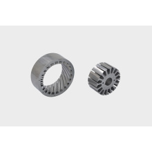 Dryer machine motor stator core stacking
