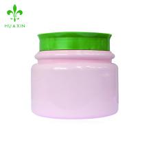 En gros 680ml vide en plastique PET pots de crème cosmétique conteneur avec couvercle