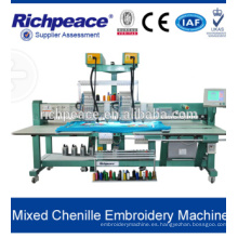 Mezclado máquina de bordado chenille / máquina de bordar de puntada de cadena