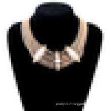 Nouveau collier d'énigme en acier inoxydable en acier inoxydable