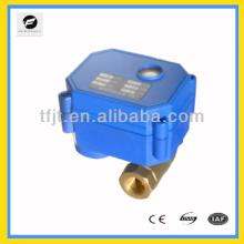 2 способ включения-выключения 24В электрический клапан шарика для катушки вентилятора и система горячего водоснабжения цикла