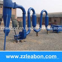 Tipo de flujo de aire 300-400kg / H Chips de madera que secan la máquina