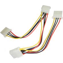 Extensor de fuente de alimentación del cable del divisor de poder de 3 maneras