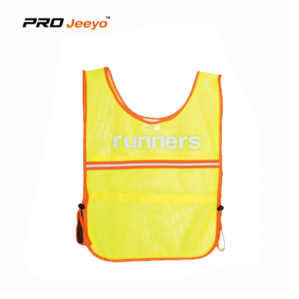 Hi-Viz Warning Hemming Running Vest For Children SVC-ET003