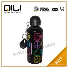 Botella de agua mineral de bebé colorido de moda acero inoxidable