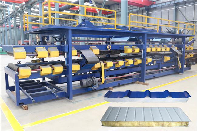 EPS Foam Sandwich Panel Production Machine Line