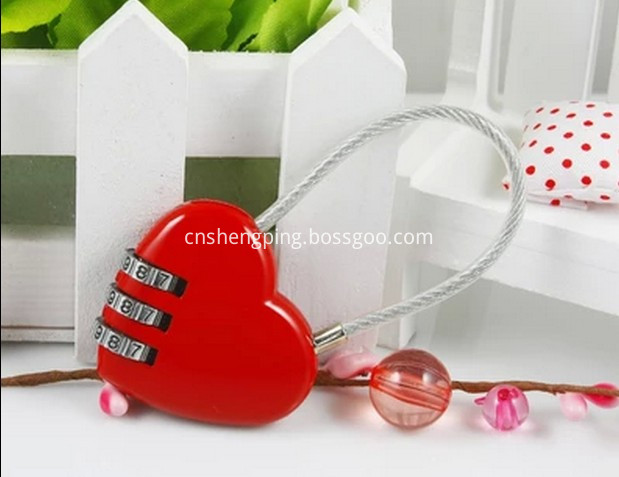 Heart and A Variety of Combination lock