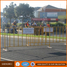 Seguridad Extraíble Peatonal Metal Barreras de la carretera