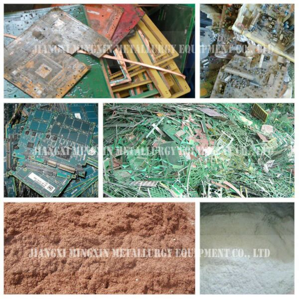 circuit boards waste recycling plant