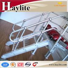 balustrade galvanisée d'escalier de fer de tuyau pour l'escalier d'intérieur