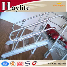 galvanized pipe iron stair handrail for indoor stair