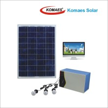 80W PV Panel Solar Panel Home Solar System with TUV IEC Mcs CE Inmetro Idcol Soncap Certificate