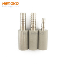 HENGKO custom sintered porous stainless steel 316 316L carbonation stone of soft drinks sparging