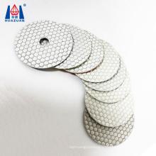 Abrasive Tool Wet Diamond White Polishing Pad