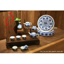 Environmental Protection and Health Tableware Hand Painted Underglazed Porcelain Jingdezhen Porcelain Tea Set