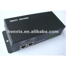 LED DMX512 controlador sem fios