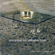 K9 Transparent Crystal Table