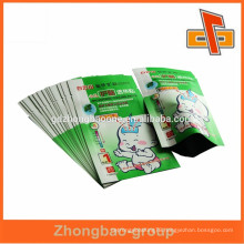 Hot sale ! Laminated bags plastic medicine pouch for baby Infantile Umbilical Paste in guangzhou
