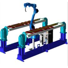 Robots multifuncionales con máquina de alta productividad
