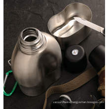 Stainless Steel Double Wall Vacuum Military Canteen Svt-750 Vacuum Svt-750 Vacuum Canteen