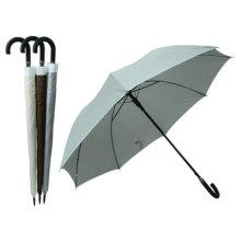 Auto Open Pure Color Straight Umbrella (BD-30)