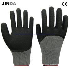 Guantes de trabajo de protección de la mano con revestimiento de espuma de látex (lh309)