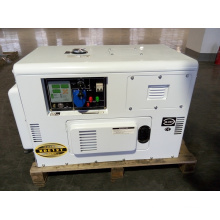 AC Single Phase 10kw Silent Diesel Generator for Shop Use (diesel genset set)
