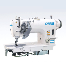 QS-8720D Direct drive high speed double needle lockstitch big hook industrial sewing machine