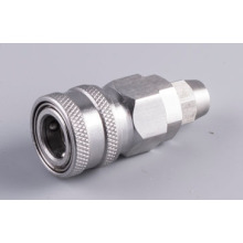 Stainless 10mm Automatic Quick socket Hose coupling