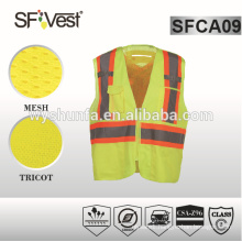 reflective jackets safety product motorcycle reflective vest safety vest with pockets high visibility workwear