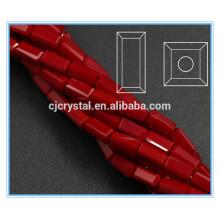 Granos rectangulares de cristal en las piezas centrales de cristal a granel al por mayor