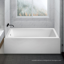 Seawin Adult Standalone Solid Surface Acrylic Triangular Bathtubs For Adult