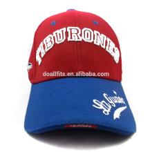 Спроектируйте собственную кепку для бейсбола с высоким качеством для оптовой продажи