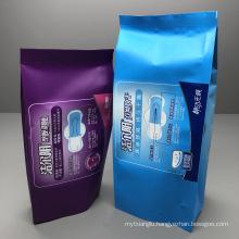 Customized Moisture Proof Smell Proof Sanitary Napkin Nursing Pad Package Bag