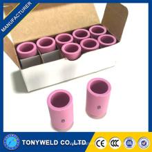 Bocal de cerâmica de cerâmica de alumina de cerâmica 13N12 para bocal de tocha de soldagem tig