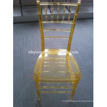 Modernes Aussehen Harz tiffany Stuhl
